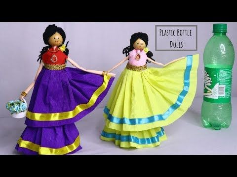 Plastic Bottle Doll Making /DIY Doll Crafts - Skill Flair-Easy Craft