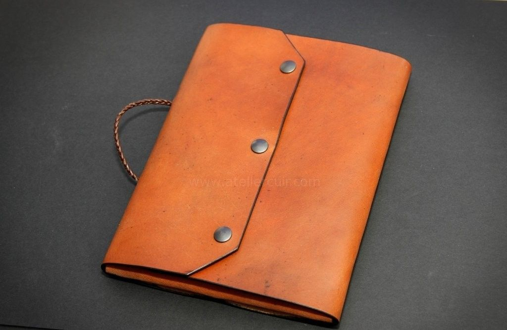 Pochette En Cuir Pour Ipad Ou Tablette Pochette Cuir Cuir Cuir Recycle