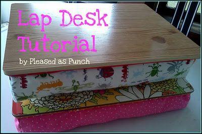 Lap Desk tutorial