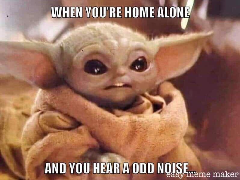 Pin By Stacey Klingbeil On Baby Yoda Yoda Funny Yoda Meme Cute Memes