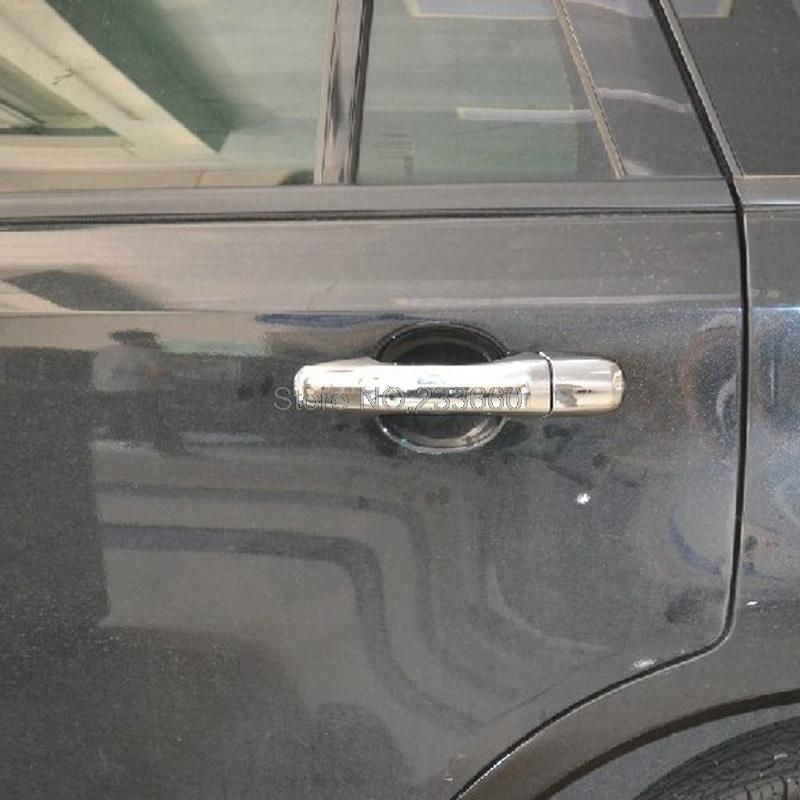 For Ford Edge   First Generation Abs Chrome Door Handle Cover Trim Door Handles Car Covers With One Keyhole Affiliate Pinterest