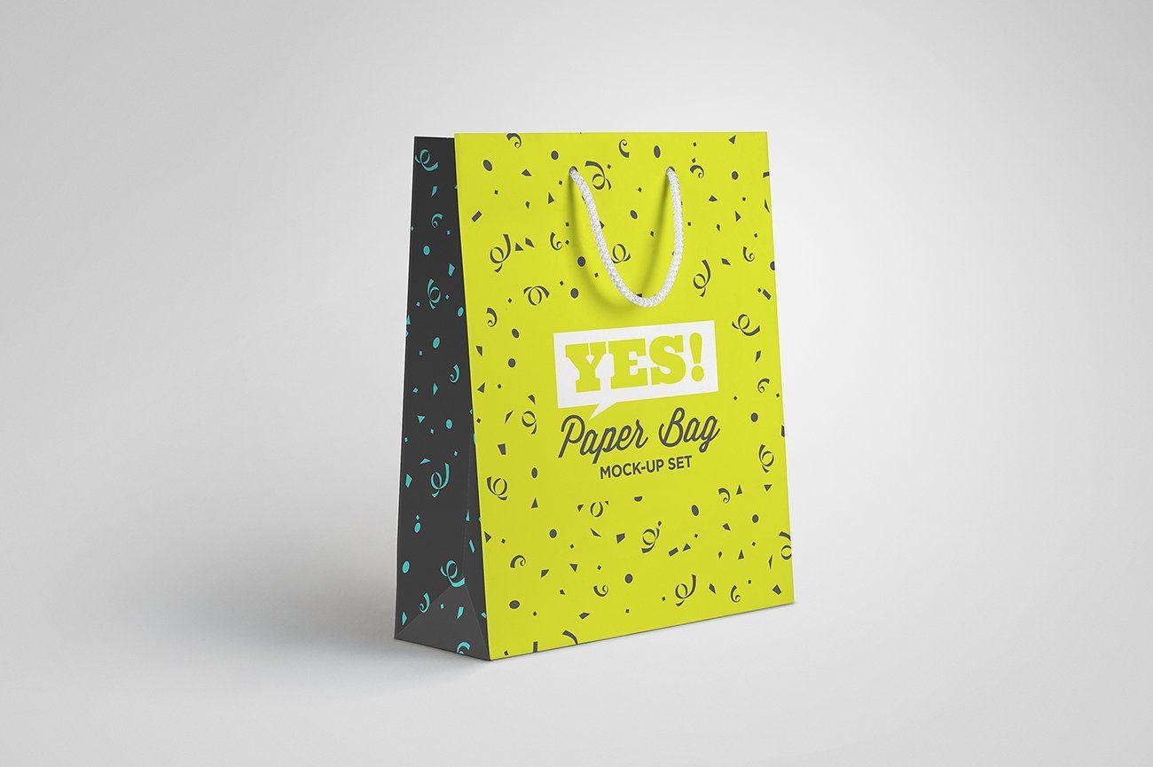 Download Paper Bag Mock Up Vol 1 Professional Business Cards Templates Paper Paper Bag