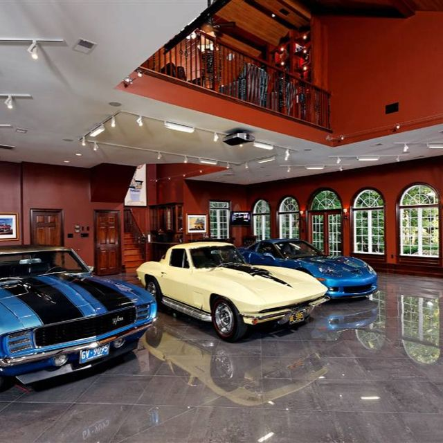 Nice garage! | Planes, Trains, and Automobiles, and Trucks ...