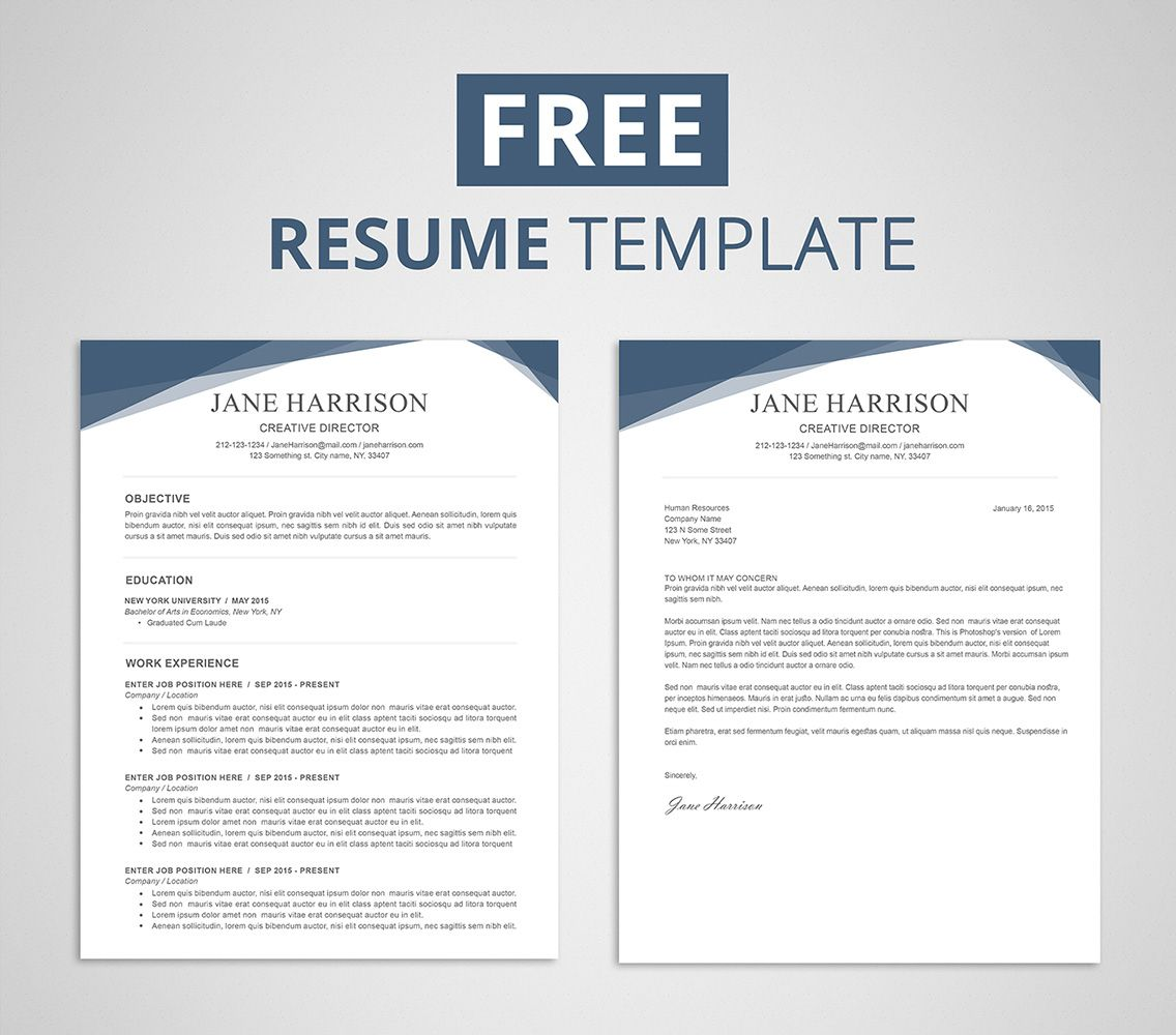 The amusing Free Resume Template For Word &