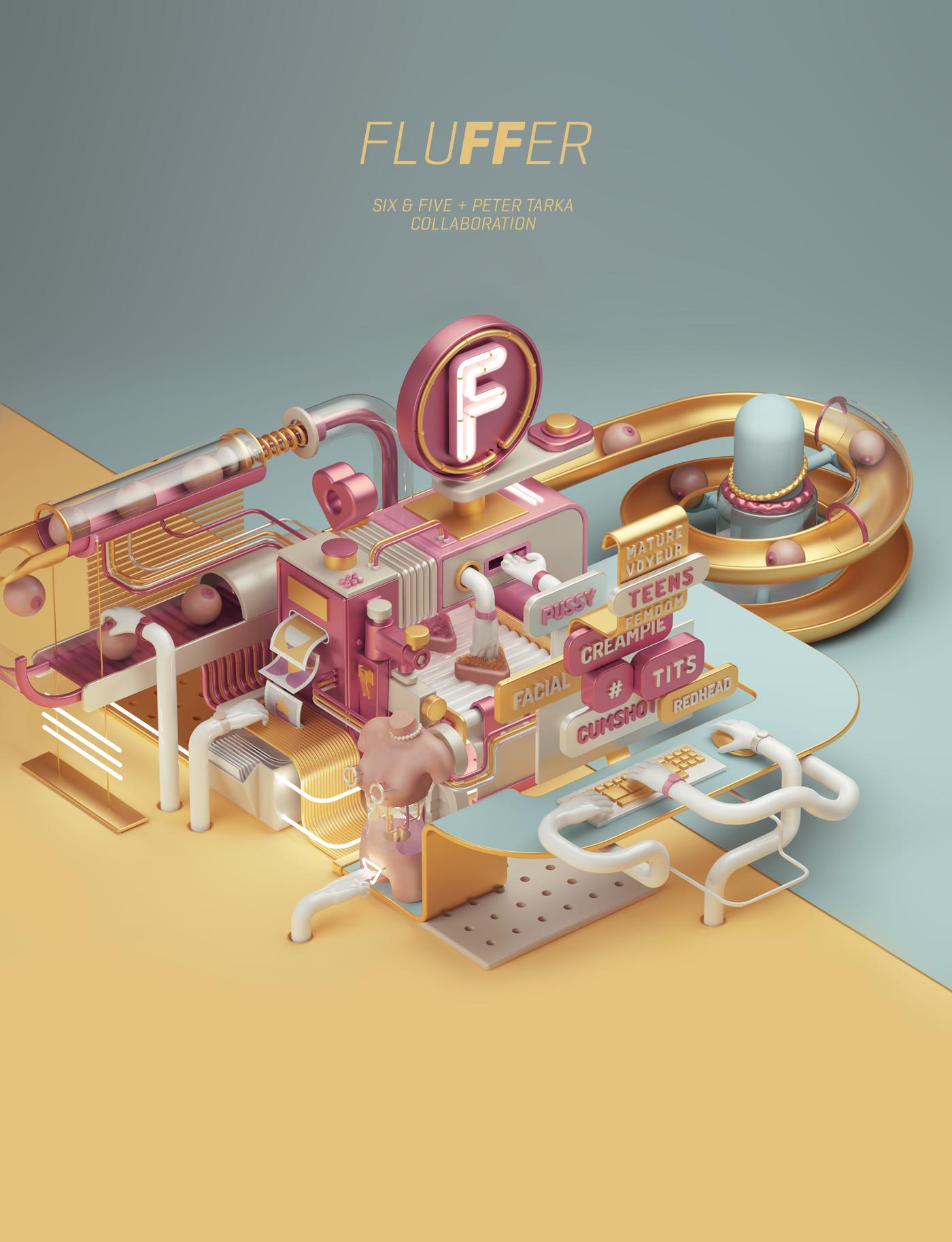 Fluffer tube