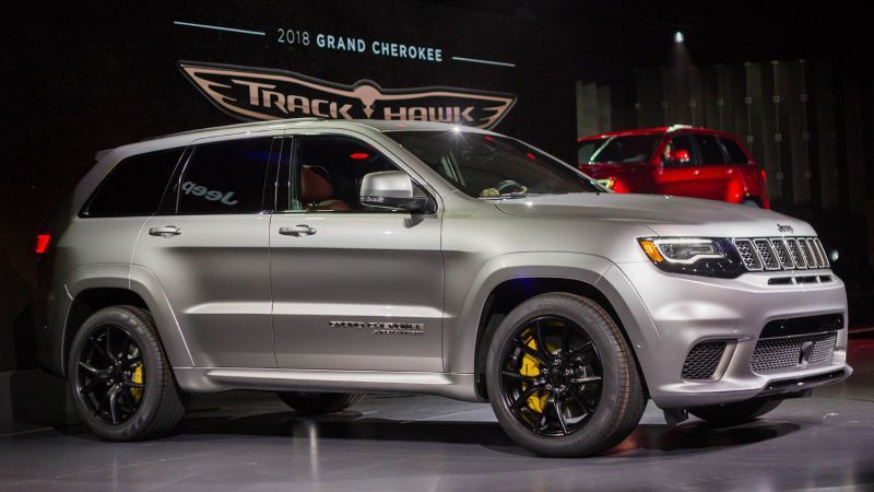 Awesome Jeep Trackhawk 0 60
