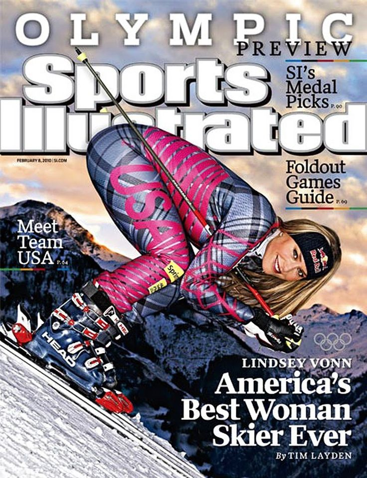 lindsey vonn sports illustrated cover