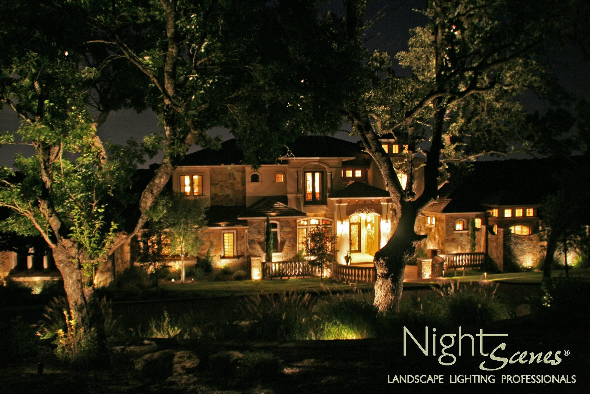 Pin By Nightscenes Landscape Lighting Professionals On