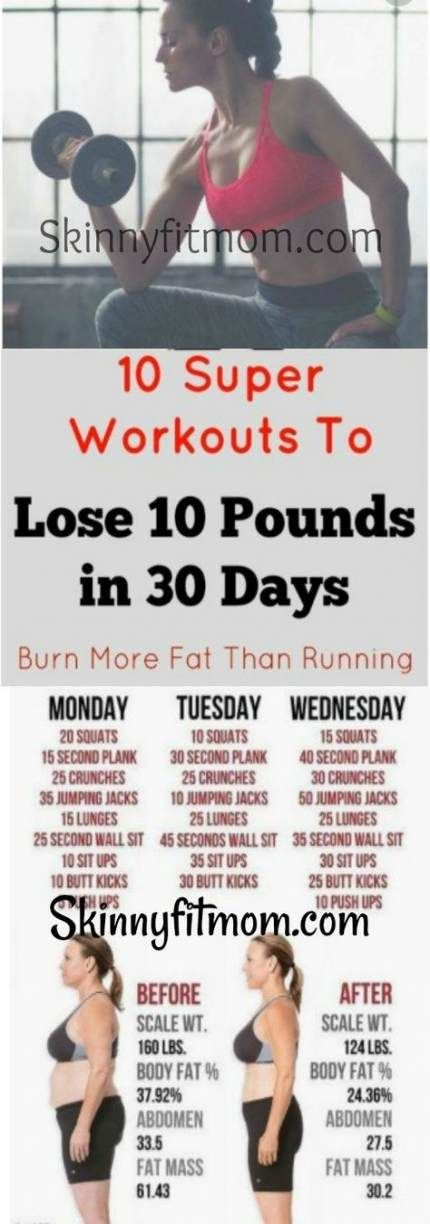 Fitness workouts 10 pounds 30 day 70 ideas #fitness