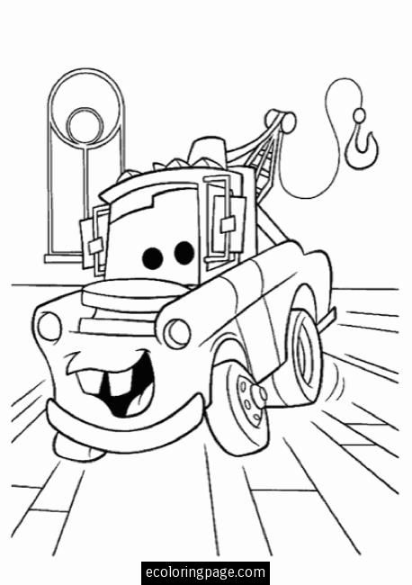 tow mater-cars-coloring-pages | Coloring Book | Pinterest | Tow ...