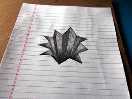 Image result for hole in paper drawing
