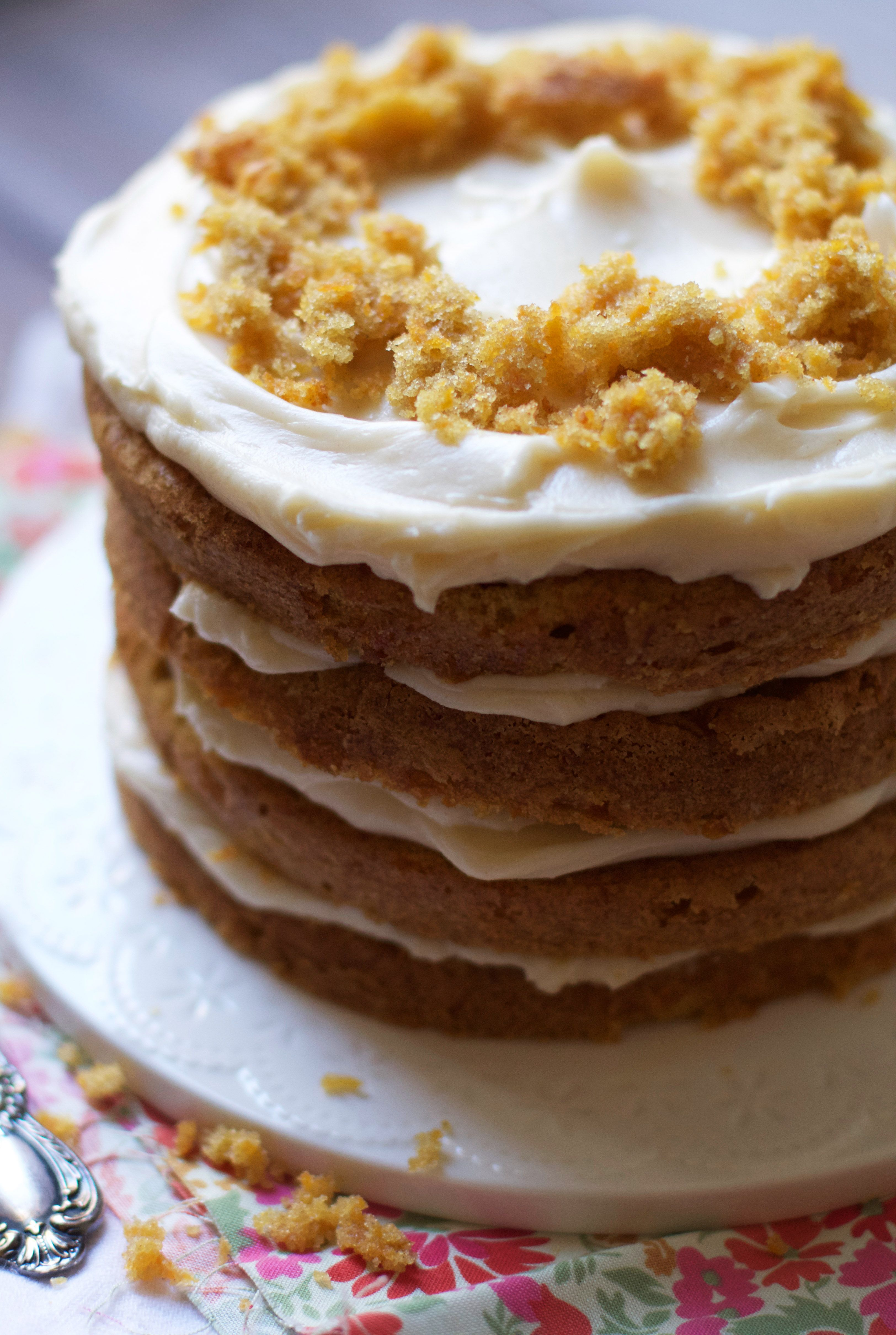 Carrot cake recipe 1 layer