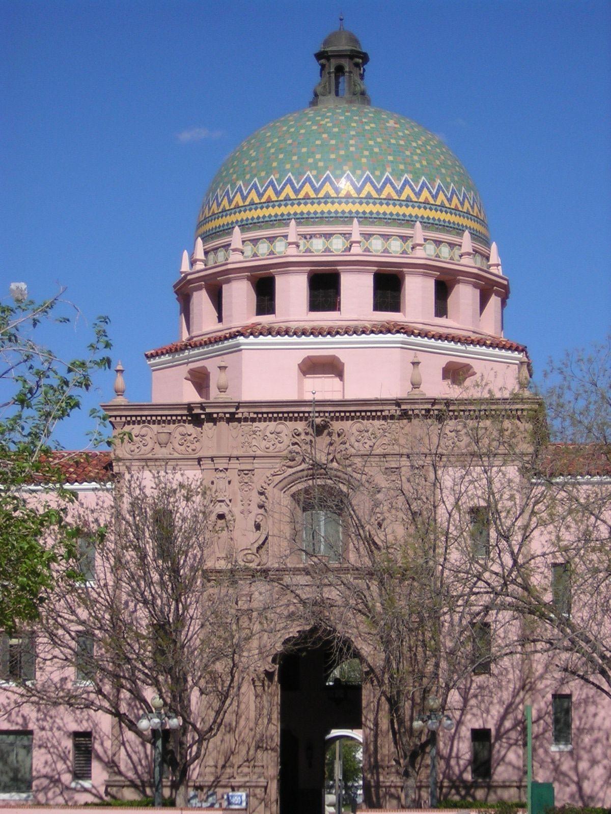 Pima County Courthouse Dome Tucson Arizona Tucson Arizona Arizona State Of Arizona Pima county consolidated justice court. pima county courthouse dome tucson