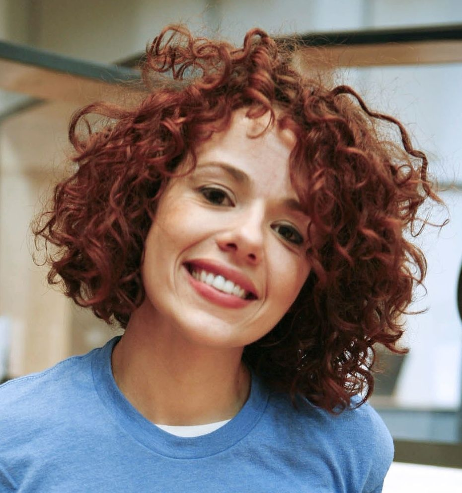 Short Natural Curly Hairstyle Hairstyles For Naturally Curly Hair