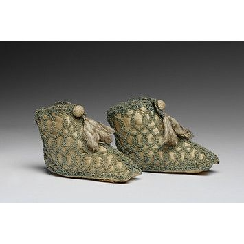 Infant Bootees; Early 19th century; Victorian and Albert Museum