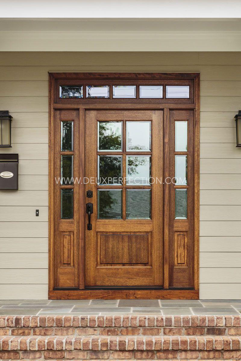 One Of The Key Advantages Of Solid Wooden Doors Is Aesthetics Solid Wooden Doors Look Better Than Hollow Core Solid Wood Doors Wooden Doors Hollow Core Doors