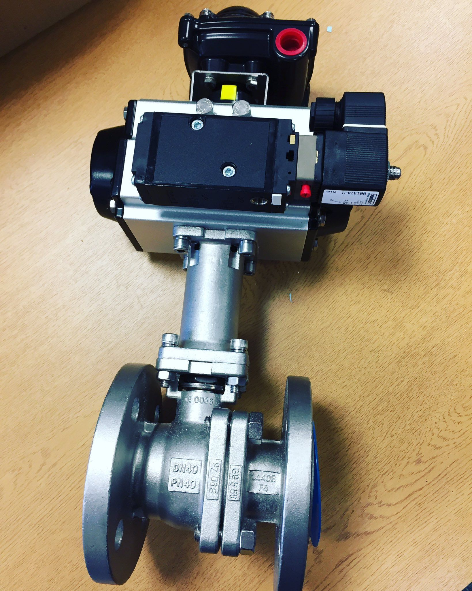 Pin by Valves Online on Actuated Valves