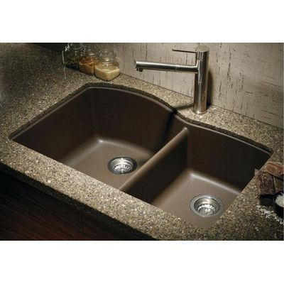 Blanco Diamond 32 L X 19 W Bowl Undermount Kitchen Sink Color