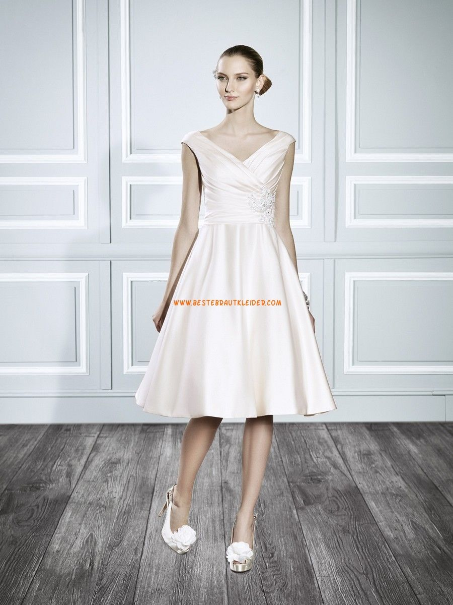 A Linie Susse Moderne Abendkleider Aus Taft Brautkleider Wien