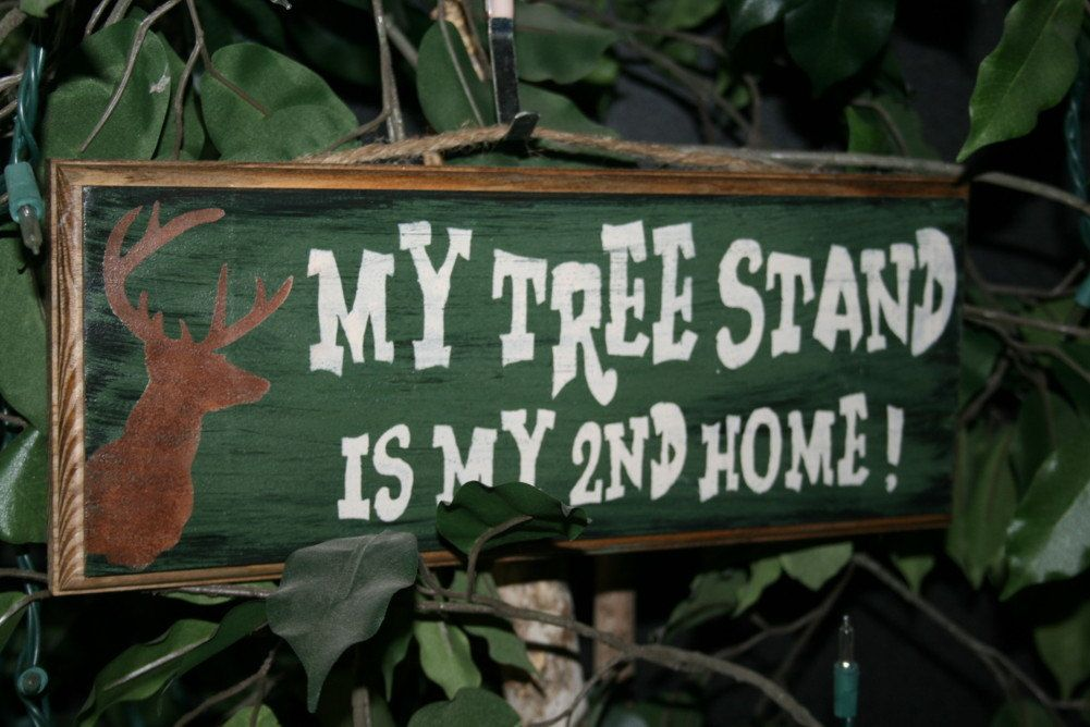 Deer hunting signs and decor funny hunting gifts for men