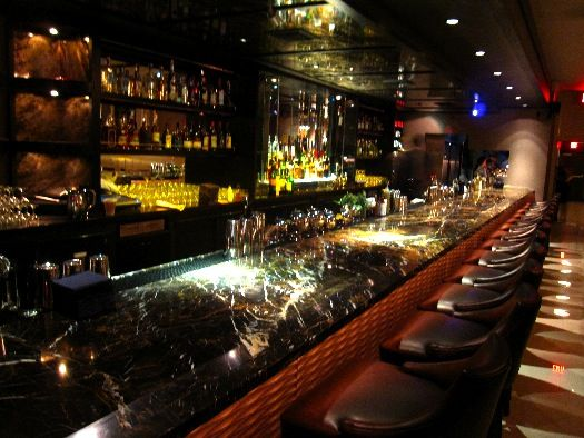 The Tar Pit Pairs Peel With Cocktails On La Brea Food Gps Luxury Bar Los Angeles Bars Bar Lounge