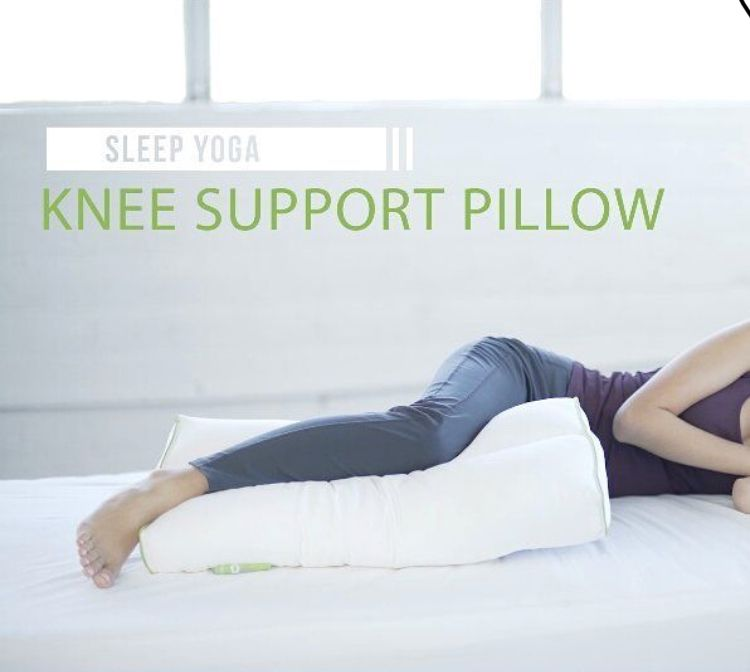 the sleep yoga knee pillow sleep