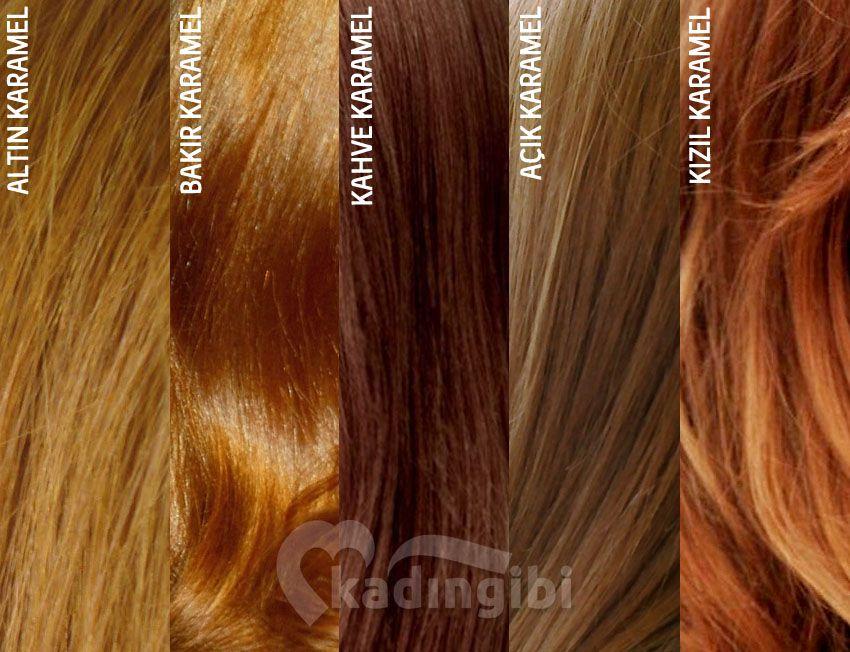 Karamel Sac Rengi Tonlari Sac Renkleri Sac Kahverengi Sac