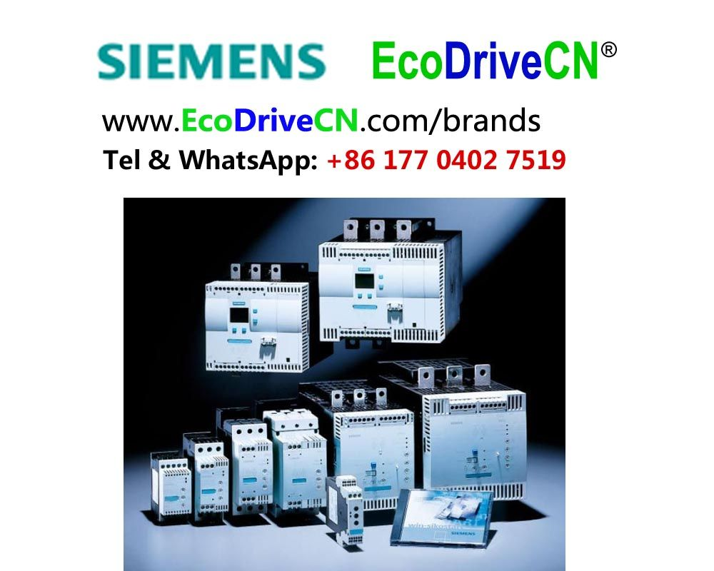 Siemens SIRIUS motor soft starters are a cost-effective alternative