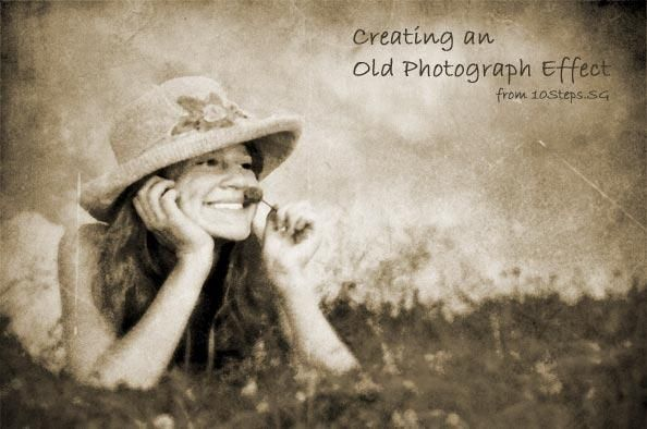Old Photo Vintage Polaroid Effects In Photoshop Photo Editing Tutorial Photoshop Tutorial Photoshop Photography