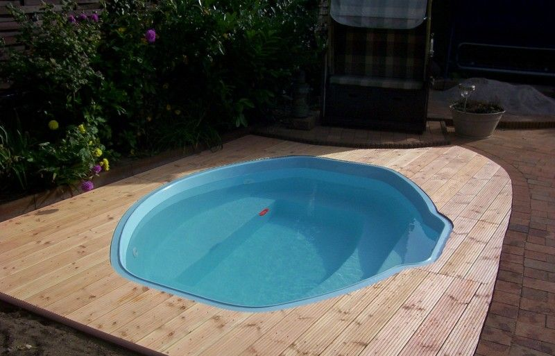 Container Pool Selber Bauen. Trendy Gartenteich Von Natur Pool ...