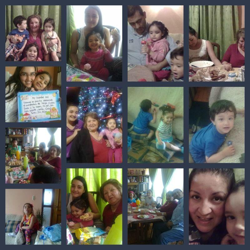 Mi familia...visita de mi madre y mis sobrinas, Constanza, Jael, Isidora...