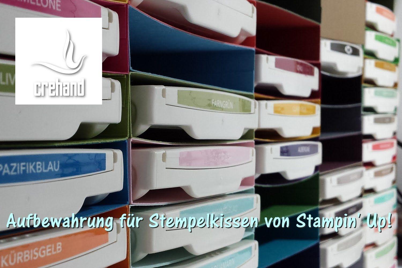Aufbewahrung für Stempelkissen von Stampin' Up!