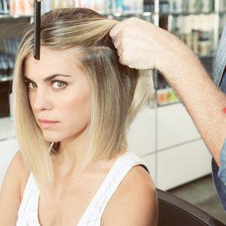 short straight hair tutorial
