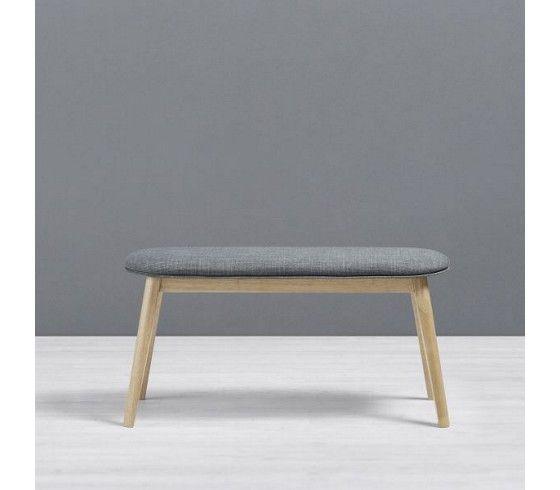 trendige sitzbank im retro-look - ein schicker sitzplatz mit stil, Wohnzimmer