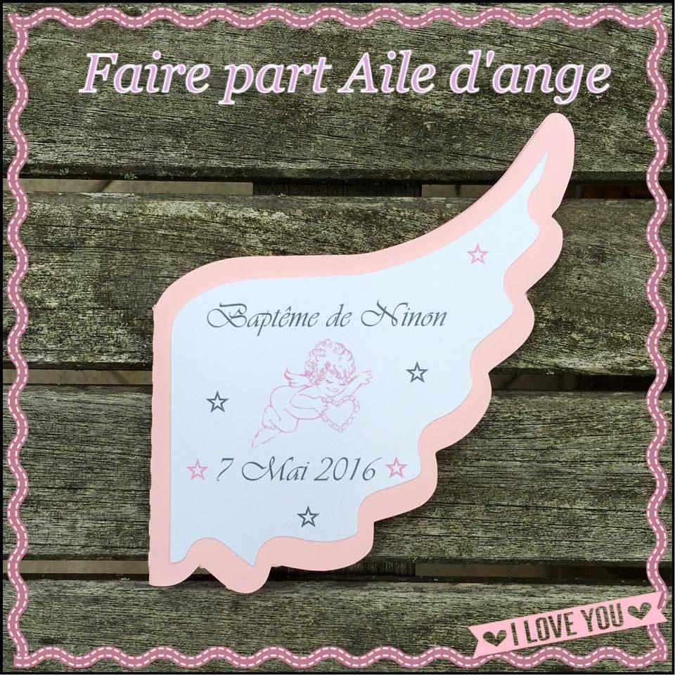 Attractif Faire part aile d'ange rose tendre et gris | Blush rose, Les anges  XO76