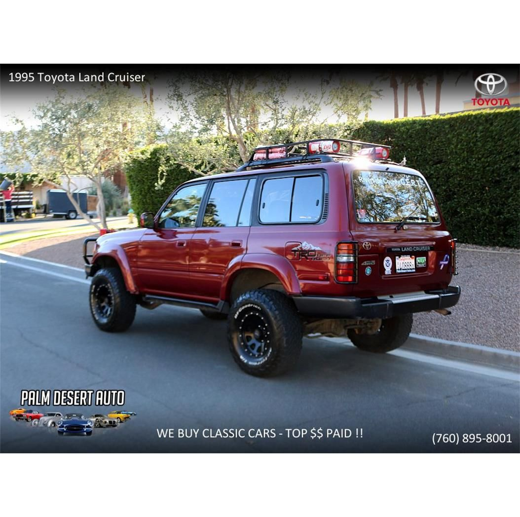 Large Photo Of 1995 Land Cruiser Fj Offered By Palm Desert Auto P249 Land Cruiser Toyota Land Cruiser Cruisers