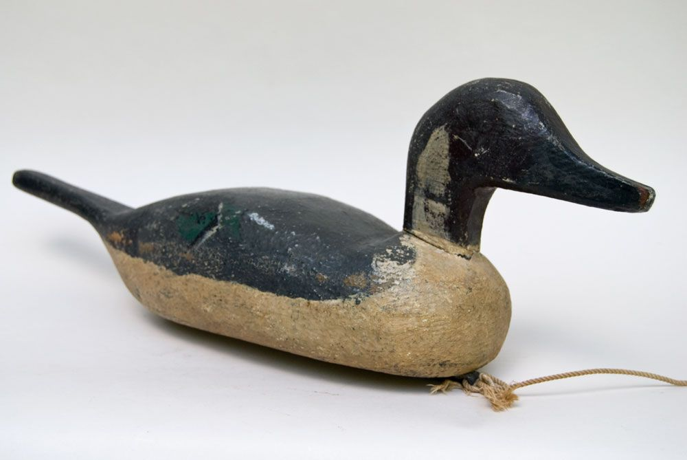 Hand Carved Pintail Hen Duck Decoy