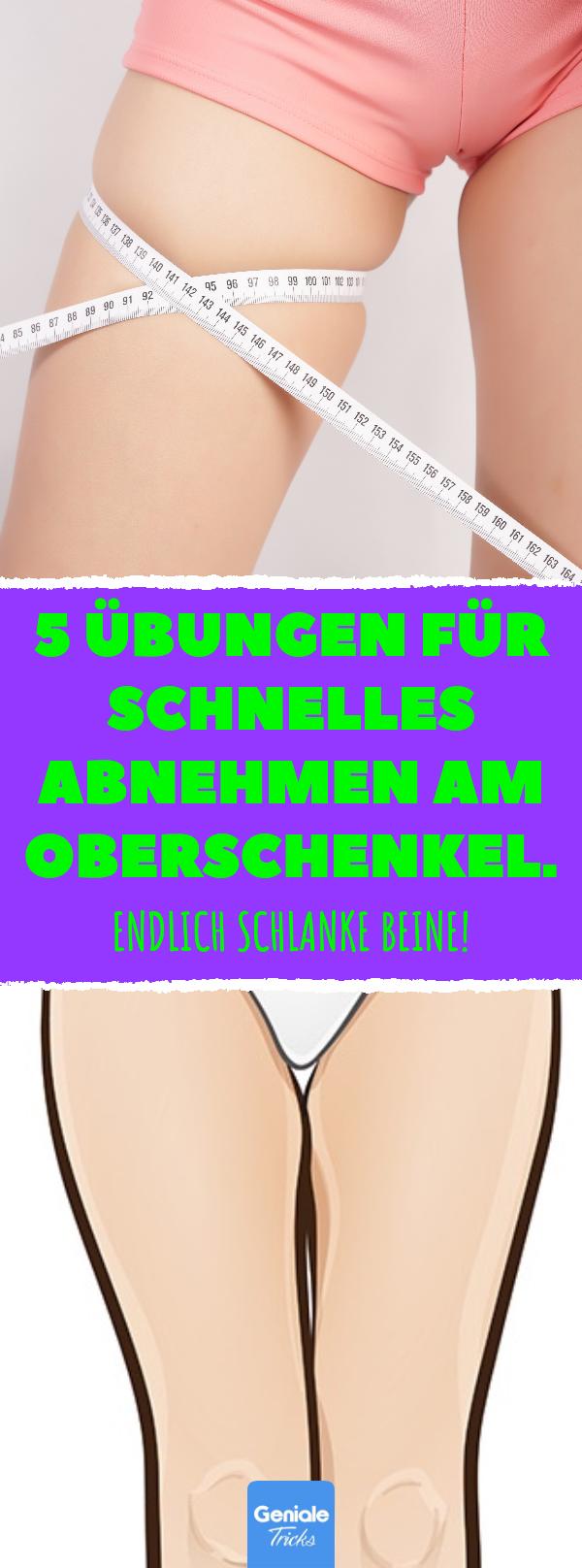 5 Übungen für schlankere Oberschenkel in einer Woche 5 Übungen für schlankere Oberschenkel in einer Woche