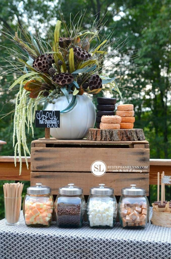 Hot Chocolate Bar #hotchocolatebar Setting Up A Hot Chocolate Bar #michaelsmakers #hotchocolatebar