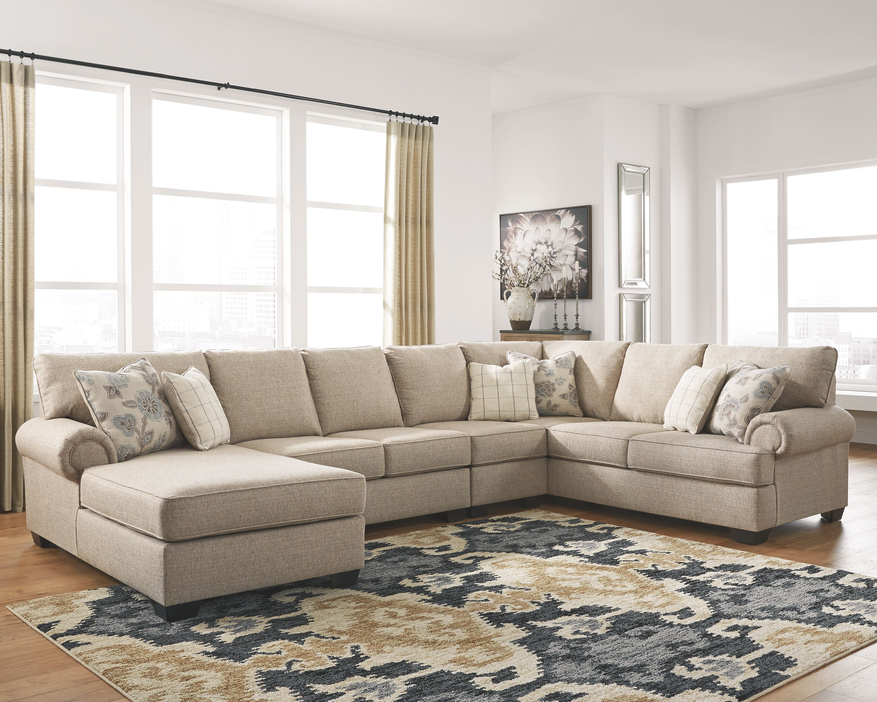 Baceno 4-Piece Sectional, Hemp | Products in 2019 | Living ...
