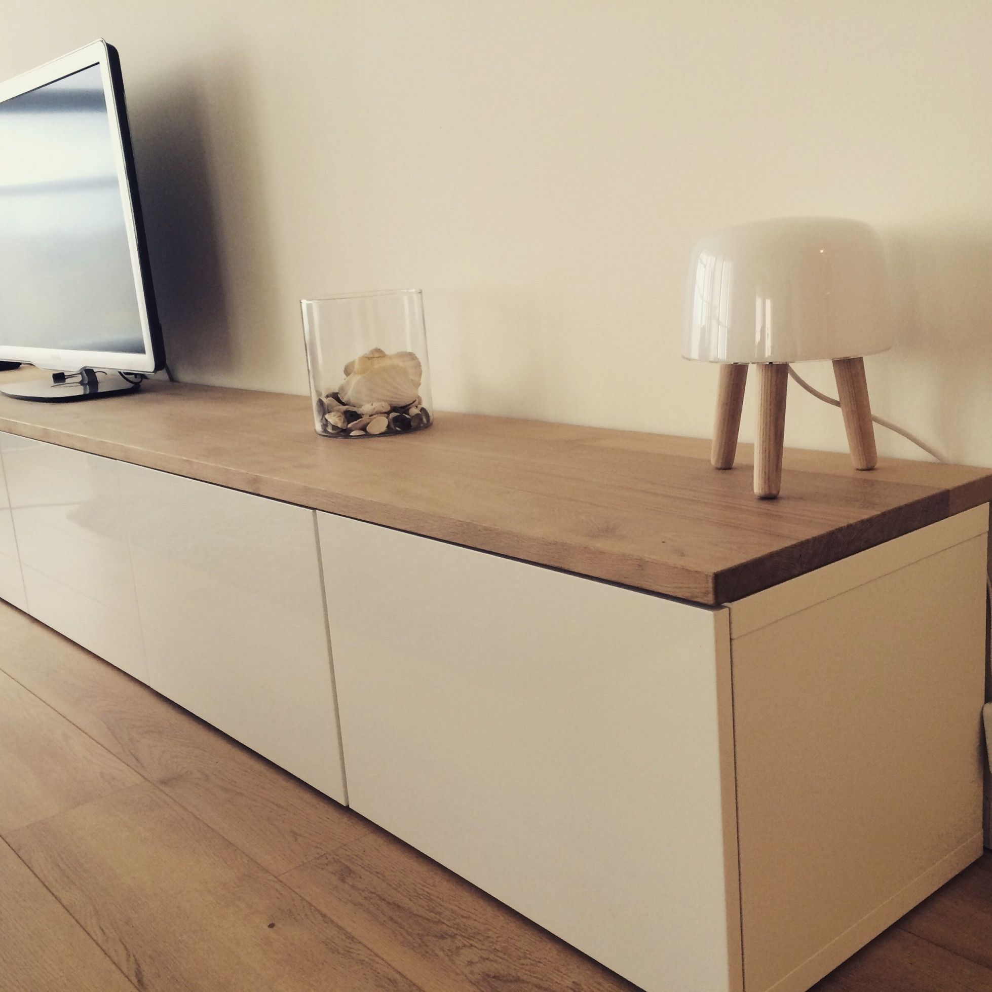 Ikea Sideboard Tv Stand Moderne Ikea Hacks Besta With Oak