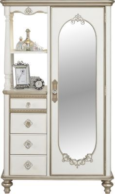 Best Disney Princess Enchanted Kingdom White Armoire 899 99 400 x 300
