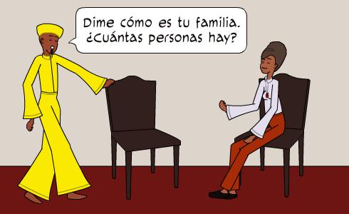 Dime cómo es tu familia...