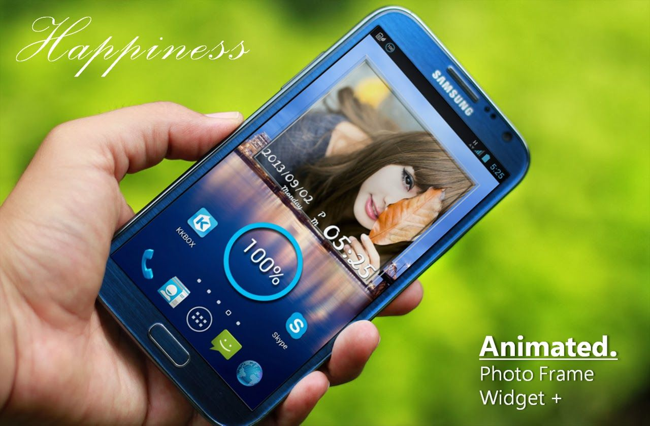 Animated Photo Frame Widget + v5.2.4 APK http://momojustshare ...