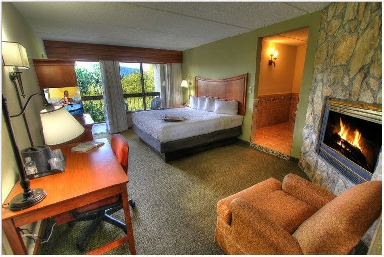 Gatlinburg Hotels With Fireplace And Jacuzzi Fireplace Suites