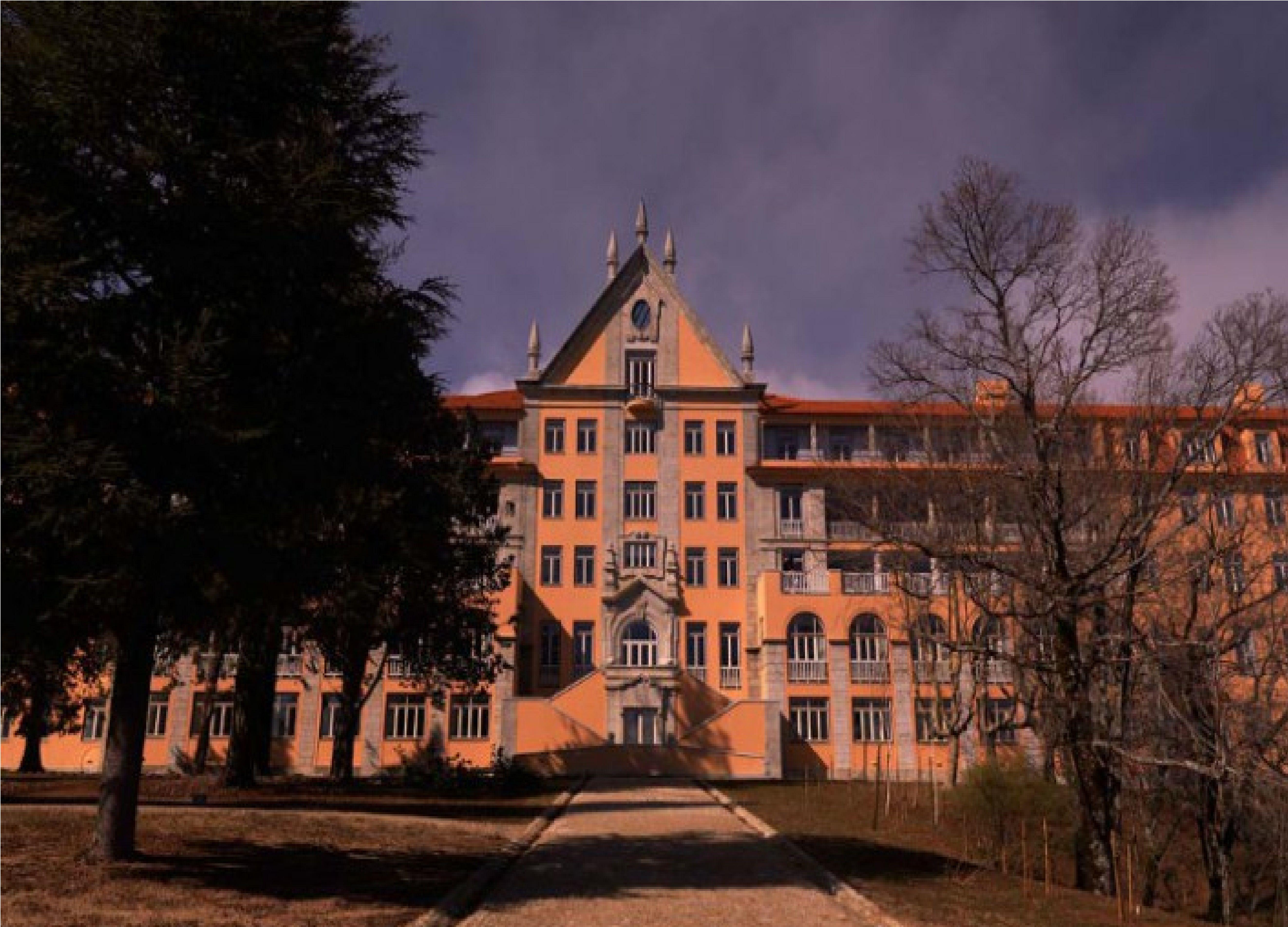 Antigo Sanatório dos Ferroviários, na Serra da Estrela. Hoje, um hotel da rede de pousadas de Portugal.
