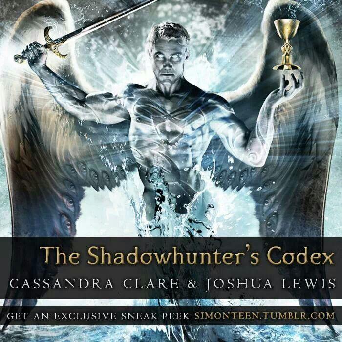 Shadowhunter Codex Mortal Instruments Pinterest