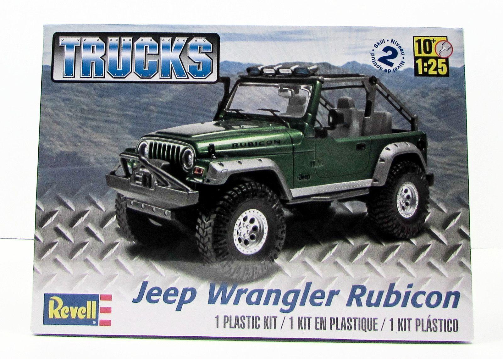 Jeep Wrangler Rubicon Revell 85 4053 1 25 New Truck Model Kit Jeep Wrangler Rubicon Jeep Wrangler New Trucks