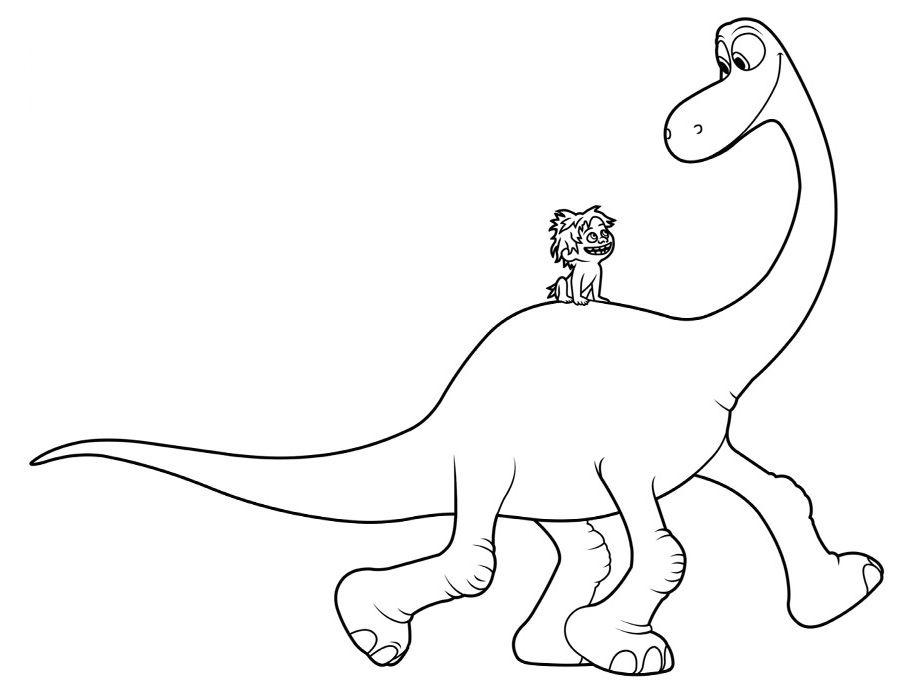 Pin Do A Mariana Matias Em Desenhos Para Pintar: Resultado De Imagem Para Desenhos O Bom Dinossauro