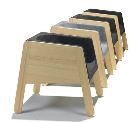 Modern Furniture Made Of Solid Pine And Felt Product Design Modern